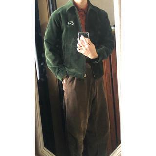 キャリー(CALEE)のキャリー CALEE コーデュロイ ジャケット 緑 グリーン 古着 ヴィンテージ(ブルゾン)