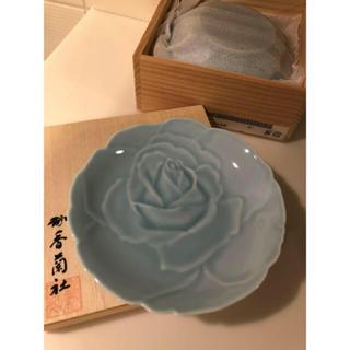 コウランシャ(香蘭社)の香蘭社 青磁ばら 銘々皿揃 5枚 1セット 新品未使用(食器)