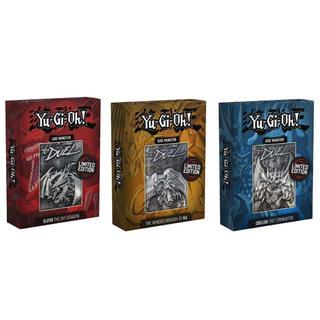 コナミ(KONAMI)の遊戯王 三幻神 金属製カード シルバー 限定生産5000個.(シングルカード)