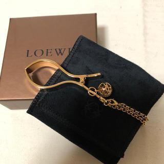 ロエベ(LOEWE)のLOEWE ロエベ  手袋ホルダー 新品未使用(キーホルダー)
