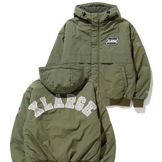 エクストララージ(XLARGE)の【XLARGE】ナイロンパーカージャケット オリーブ Lサイズ(ナイロンジャケット)