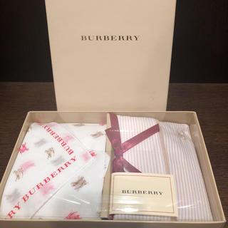 BURBERRY - 新品☆ BURBERRYバーバリー ハンカチ&ティッシュケース