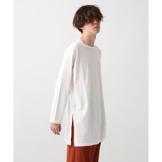 ハレ(HARE)のHARE サイドスリットロングカットソー Tシャツ(Tシャツ/カットソー(七分/長袖))