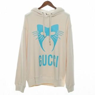 グッチ(Gucci)のCucci19FWブラックパーカー(パーカー)