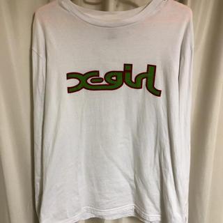 エックスガール(X-girl)のx girl ロンT(Tシャツ(長袖/七分))
