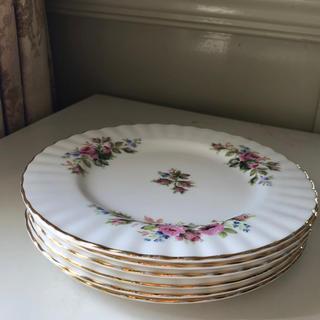 ロイヤルアルバート(ROYAL ALBERT)のロイヤルアルバートケーキ皿6枚セット(1)(食器)