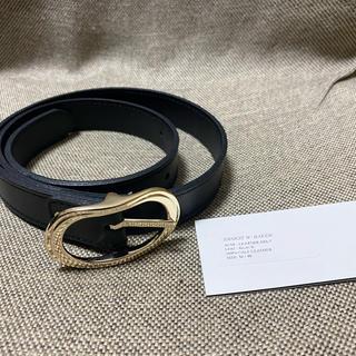 ジョンローレンスサリバン(JOHN LAWRENCE SULLIVAN)のERNEST W. BAKER 20aw Leather Belts(ベルト)