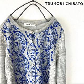ツモリチサト(TSUMORI CHISATO)のツモリチサト カーディガン  刺繍 レディース 長袖(カーディガン)