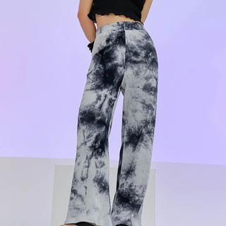 STYLENANDA - 【予約商品】タイダイ スラックス パンツ 韓国ファッション 秋服