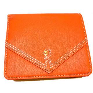 ロベルタディカメリーノ(ROBERTA DI CAMERINO)の新品 ロベルタ ディ カメリーノ 山羊革 折財布(財布)