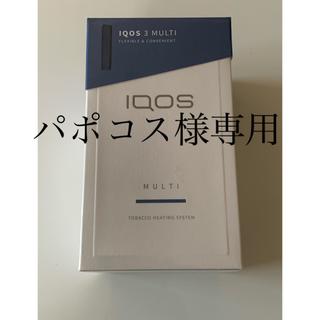 IQOS - 新品/未開封 IQOS3 mulch ブルー