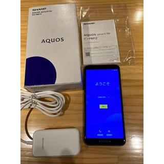 SHARP - AQUOS sense3 lite ブラック 64GB SIMフリー