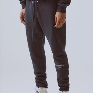 FEAR OF GOD - Sサイズ 黒 ブラック fog essentials sweat pants