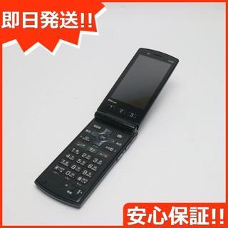キョウセラ(京セラ)の超美品 au K008 簡単ケータイ グリーン 白ロム(携帯電話本体)
