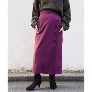 LOWRYS FARM - LOWRYS FARM サイドボタンタイトスカート