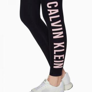 Calvin Klein - カルバンクライン ネイビー レギンス スパッツ レディース  S