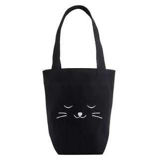 Starbucks Coffee - 残り1点!台湾 スターバックス ハロウィン ドリンク タンブラーバッグ 黒猫 猫