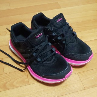 adidas - アディダス レディース スニーカー ブラック23センチ