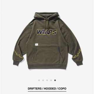 W)taps - WTAPS 20AW DRIFTERS HOODED オリーブ L