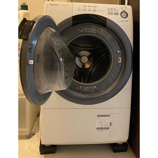 SHARP - 【使用年数2年半】ドラム式洗濯乾燥機(2017年製)