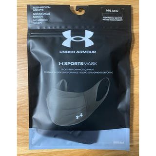 UNDER ARMOUR - under armour sports mask Black M/L M/G