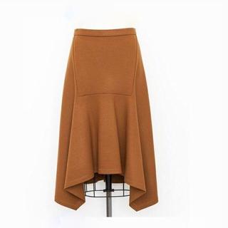 ドゥロワー(Drawer)の1度着用 Drawer ドゥロワー ウール フレア スカート(ひざ丈スカート)