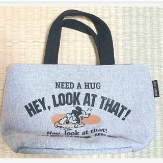 ミッキーマウス(ミッキーマウス)のミッキーマウス トートバッグ袋部約15×28×12cm(トートバッグ)