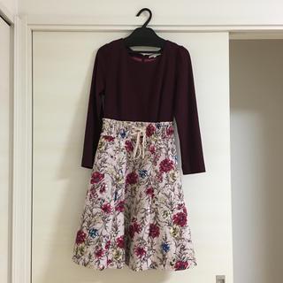 PROPORTION BODY DRESSING - プロポーション 花柄ワンピース サイズ2