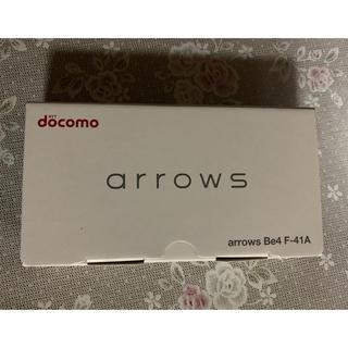 フジツウ(富士通)のdocomo F-41A 新品 未使用 制限⚪︎ 白色 (スマートフォン本体)