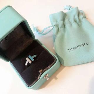 ティファニ-T ダイアモンド&マザーオブパール リング(リング(指輪))
