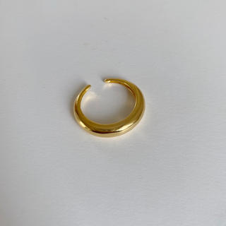 TODAYFUL - 即納_Silver925,18kgp_ Crescent ring