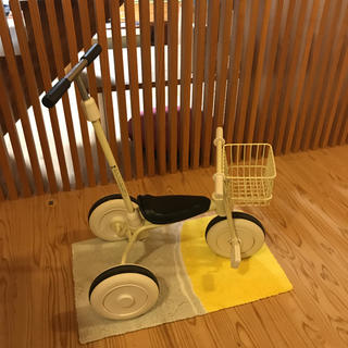 MUJI (無印良品) - 無印 三輪車 舵取り棒つき