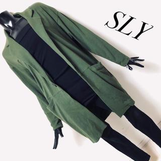 スライ(SLY)のSLY*ロングテーラードジャケット(テーラードジャケット)