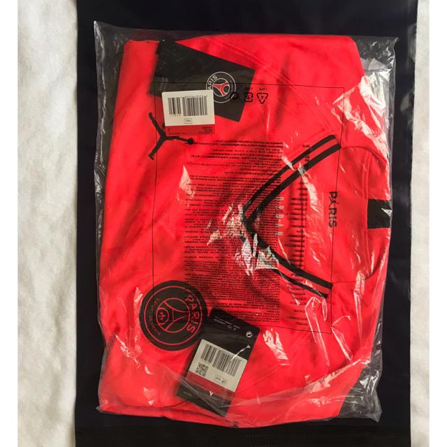 NIKE(ナイキ)のJordan × PSG ユニフォーム Lサイズ スポーツ/アウトドアのサッカー/フットサル(ウェア)の商品写真