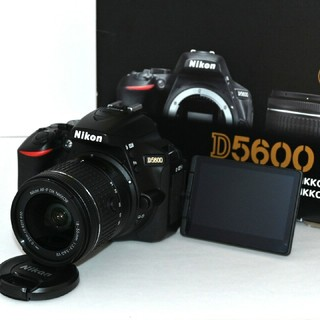 Nikon - 【Nikon】Wi-Fi♡ショット数わずか「573回」♡D5600レンズキット