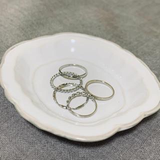 リング 指輪5個セット アクセサリー重ね付け(リング(指輪))
