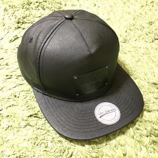 エイチアンドエム(H&M)のH&M キャップ 黒 帽子(キャップ)