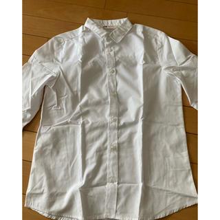 エイチアンドエム(H&M)のH&M 白シャツ 140(ブラウス)