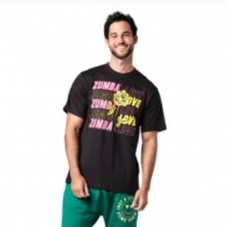 ズンバ(Zumba)のズンバTシャツ ブラック(Tシャツ/カットソー(半袖/袖なし))