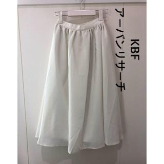 KBF - KBF アーバンリサーチ*フレアースカート