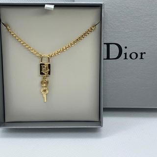 Christian Dior - 【未使用 】クリスチャン ディオール 南京錠ネックレス /ゴルードR101