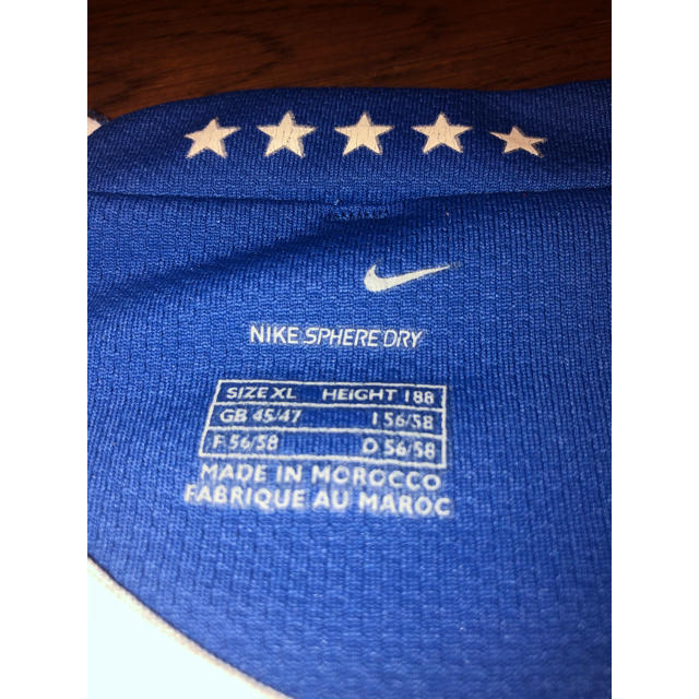 NIKE(ナイキ)のブラジル代表 カカ選手ユニフォーム 2006ワールドカップ  スポーツ/アウトドアのサッカー/フットサル(ウェア)の商品写真