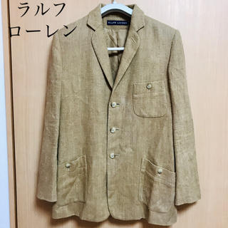 ラルフローレン(Ralph Lauren)のラルフローレン レディース ジャケット 9号(L寄り) 日本製 定価4万円(テーラードジャケット)