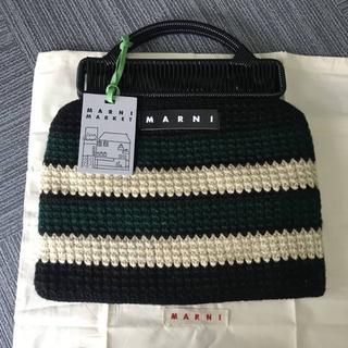 Marni - マルニマーケット ストライプバッグ
