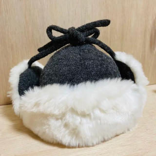 コムサイズム(COMME CA ISM)のコムサイズム ベビー フライトキャップ 帽子(帽子)