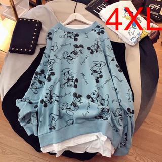 LUBA073春秋レディース ゆったり 大きいサイズ 长袖 ロングTシャツ