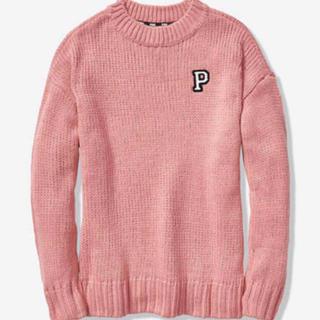 ヴィクトリアズシークレット(Victoria's Secret)のVS PINK ニット セーター ピンク(ニット/セーター)