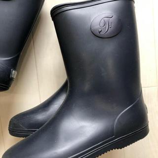 ファミリア(familiar)のジャスミンティー様ご専用 ファミリア レインブーツ 19㎝ 長靴 ネイビー(長靴/レインシューズ)