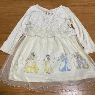 Disney - プリンセス ワンピース ドレス 120cm