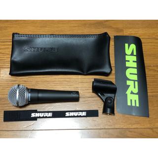 SHURE社製 ダイナミックマイク SM-58LC 新品